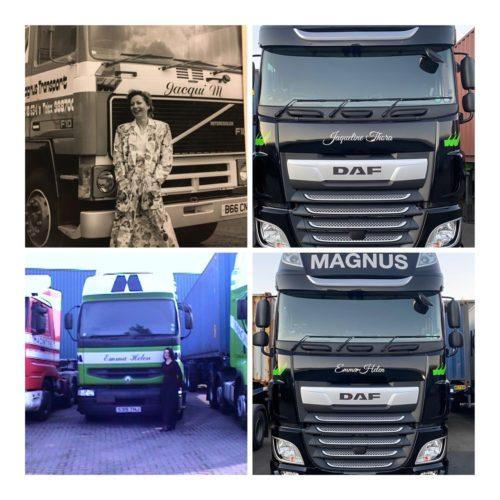 Naming of trucks 2020