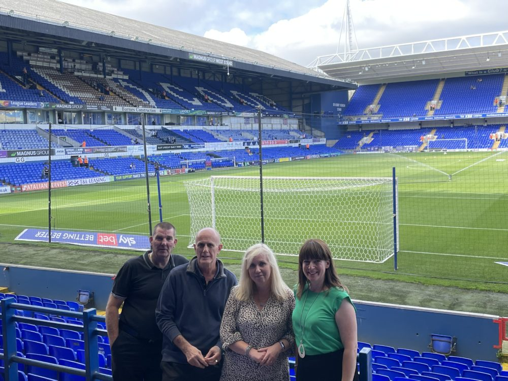 Magnus Group staff hosted at Ipswich Town